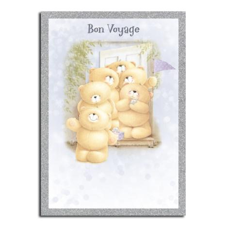 Bon Voyage Forever Friends Leaving Card