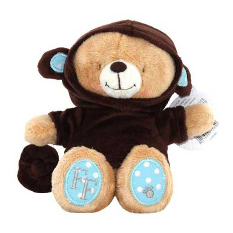 "8"" Dressed as Monkey Forever Friends Bear"