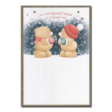 Special Friend Forever Friend Christmas Card