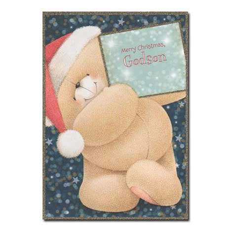 Godson Forever Friends Christmas Card