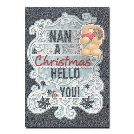 Nan Forever Friends Christmas Card