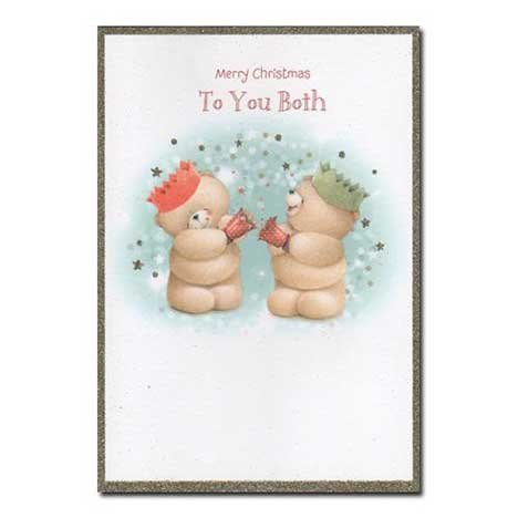 To You Both Forever Friends Christmas Card