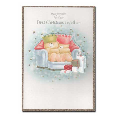 For Your First Christmas Together Forever Friends Card