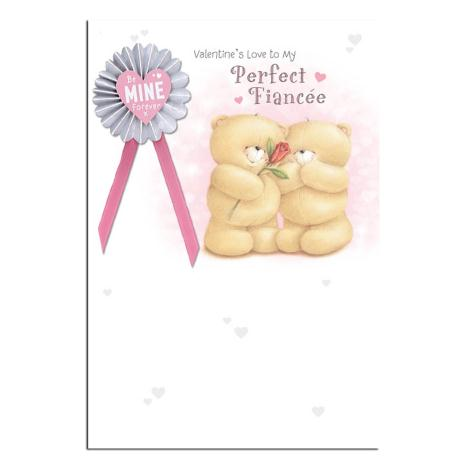 Perfect Fiancee Forever Friends Valentines Day Card