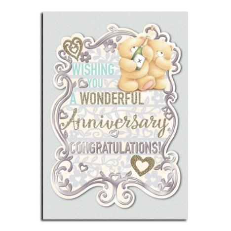 Anniversary Congratulations Forever Friends Card