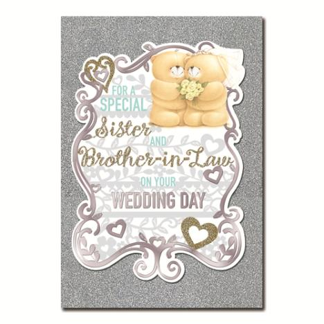 Sister & Brother-In-Law Wedding Day Forever Friends Card