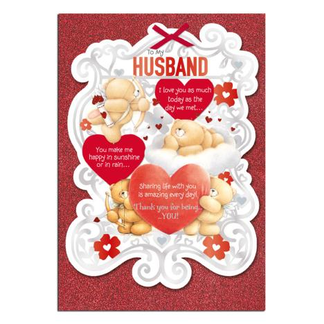 Husband Forever Friends Valentines Day Card