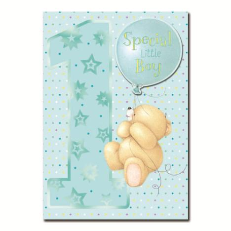 1st Birthday Special Little Boy Forever Friends Card