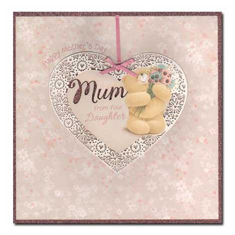 Mum From Daughter Forever Friends Mothers Day Card