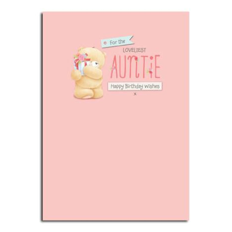 Auntie Birthday Forever Friends Card