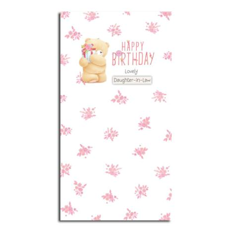 Daughter-In-Law Birthday Forever Friends Card