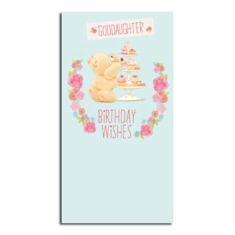 Goddaughter Birthday Wishes Forever Friends Card