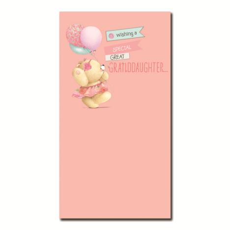 Great Granddaughter Forever Friends Birthday Card