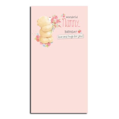 Wonderful Nanny Forever Friends Birthday Card