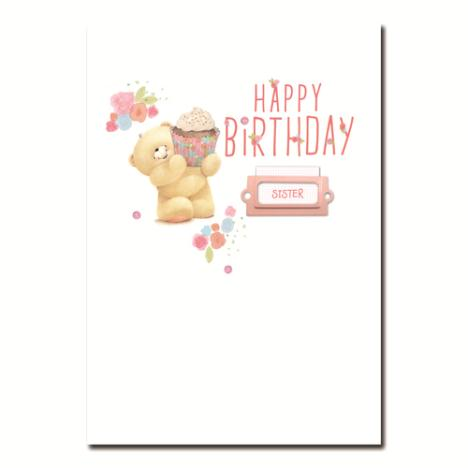 Happy Birthday Sister Forever Friends Card