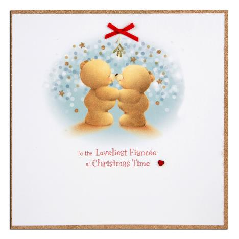 Fiancee Forever Friends Christmas Card