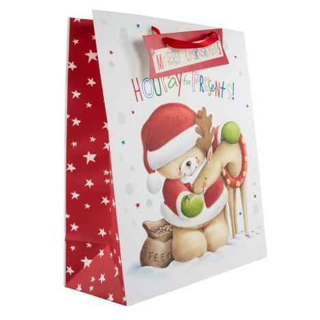 Extra Large Forever Friends Christmas Gift Bag