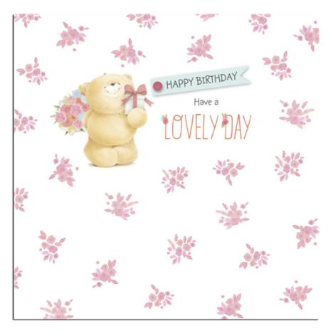 Happy Birthday Square Forever Friends Card