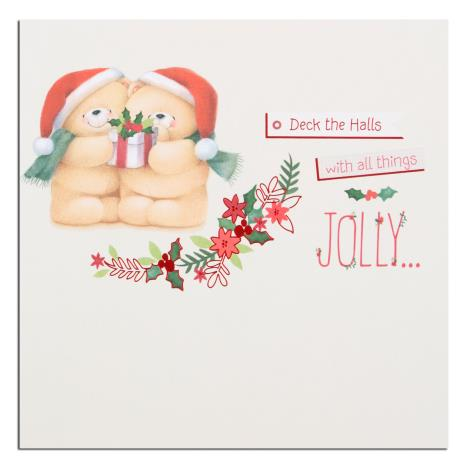 Deck the Halls Forever Friends Christmas Card