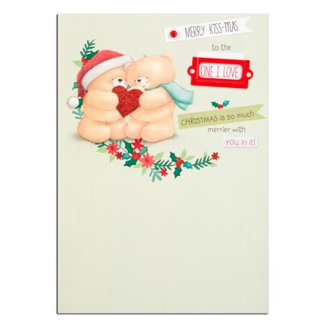 Merry Kiss-mas One I Love Forever Friends Christmas Card