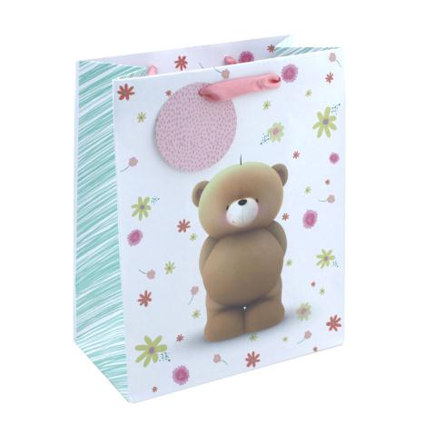 Small Forever Friends With Flowers Gift Bag
