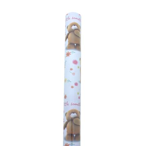 2m Forever Friends Bear With Balloons Roll Wrap