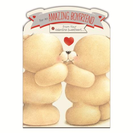 Amazing Boyfriend Forever Friends Valentines Day Card