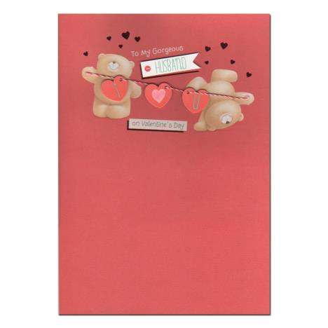 Gorgeous Husband Forever Friends Valentines Day Card