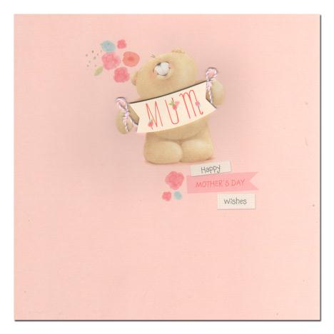 Mum Square Forever Friends Mothers Day Card