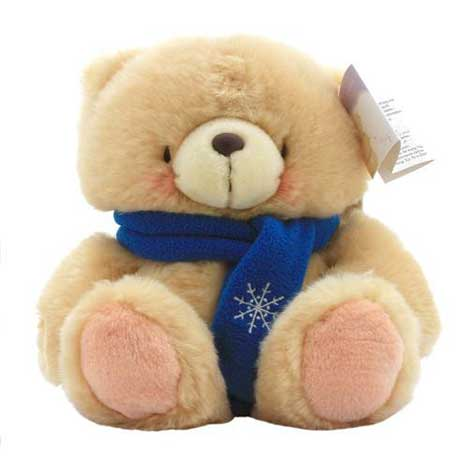 "6"" Snowflake Scarf Forever Friends Bear"