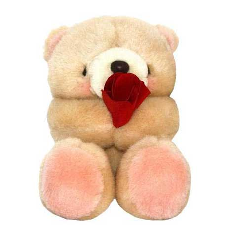 "6"" Tulip Bouquet Forever Friends Bear"