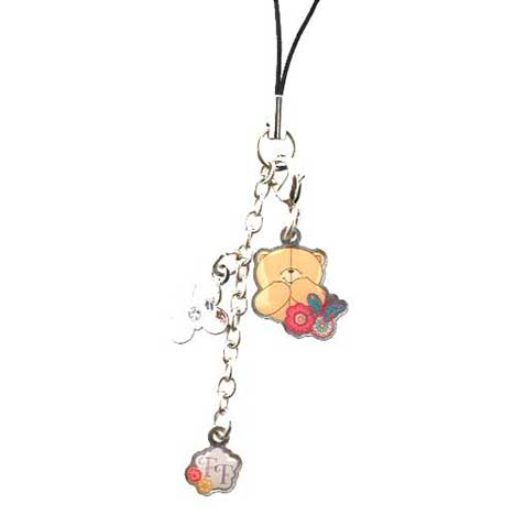 Just Lovely Forever Friends Mobile Phone Charm