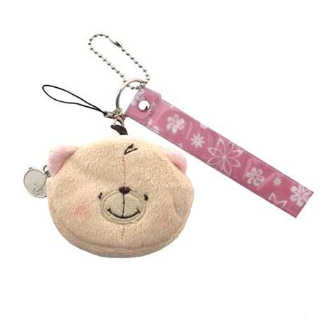 Forever Friends Mobile Phone Strap Pink