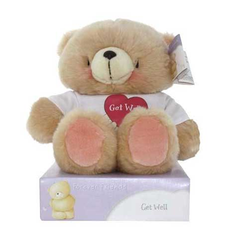 "10"" Get Well T-shirt Forever Friends Bear"