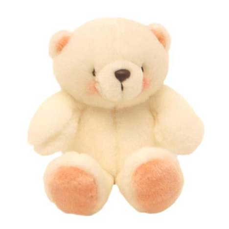 "10"" Forever Friends Around the World White Bear"