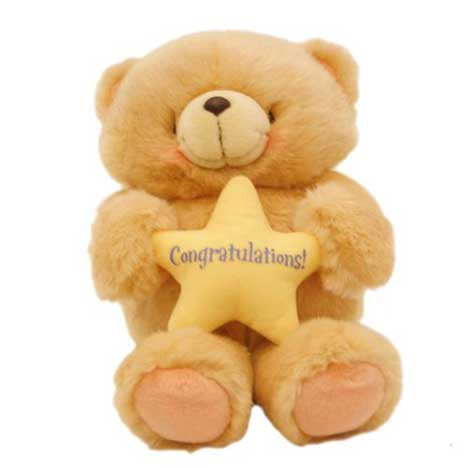 "10"" Congratulations Forever Friends Bear"