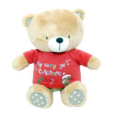 "8"" My First Christmas Forever Friends Bear"