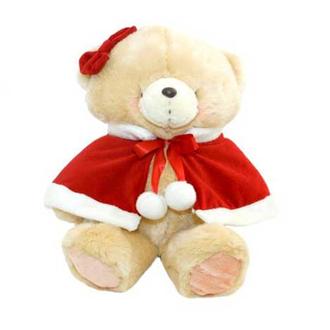 "10"" Mrs. Claus Forever Friends Bear"