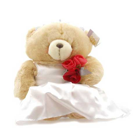 "16"" Bride Forever Friends Wedding Bear"