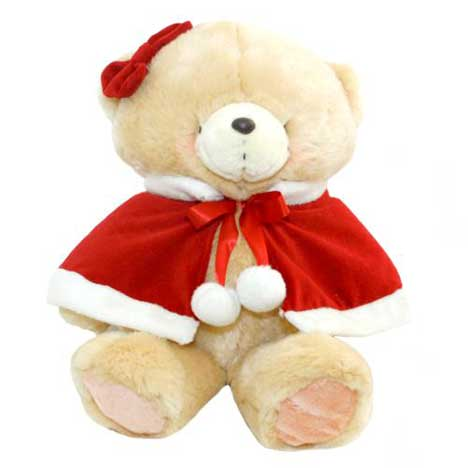"16"" Mrs. Claus Forever Friends Bear"