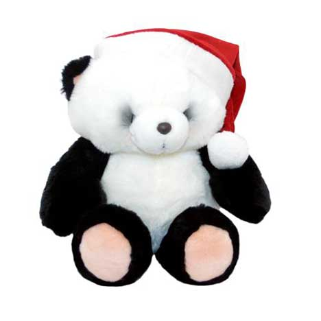 "16"" Christmas Panda Forever Friends Bear"