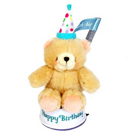 "6"" Forever Friends Happy Birthday Plush Figurine"