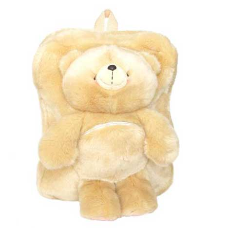 Forever Friends Soft Furry Backpack