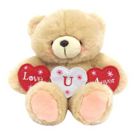 "10"" Love You Forever Banner Forever Friends Bear"