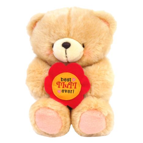 "10"" Best Mum Ever Flower Forever Friends Bear"
