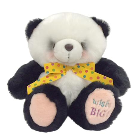 "10"" Forever Friends Panda with Birthday Ribbon"