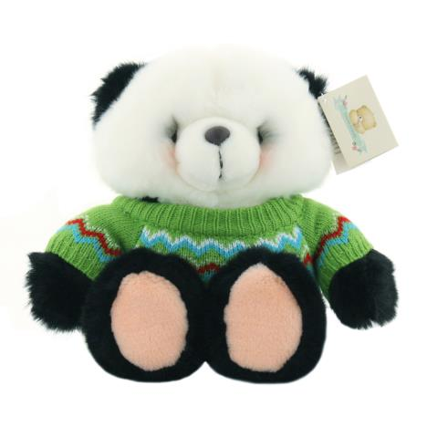 "10"" Chevron Jumper Forever Friends Panda Bear"