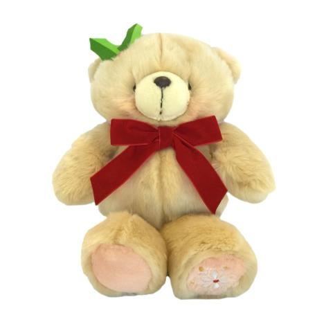 "10"" Red Christmas Bow Forever Friends Bear"