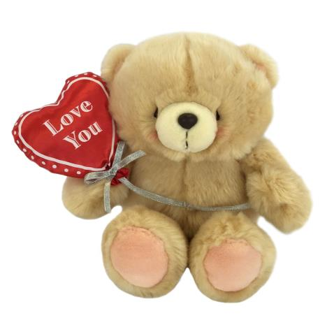 "10"" Love You Heart Balloon Forever Friends Bear"