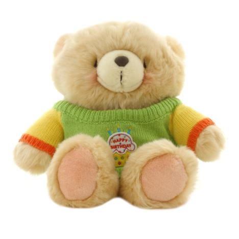 "10"" Happy Birthday Sweater Forever Friends Bear"